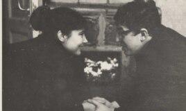 Татьяна Самойлова и Сол Шульман. Фото 1960-х годов из архива Шульмана