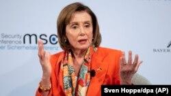Lidera democraților din Camera Reprezentanților, Nancy Pelosi (foto arhivă).