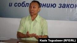 Сакен Шардаров, юрист. Алматы, 16 июля 2014 года.