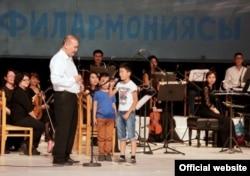 Филармониядагы концерт. Бишкек.