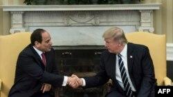 Abdel Fattah al-Sisi və Donald Trump