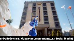 Гостиница Discovery в Бишкеке.