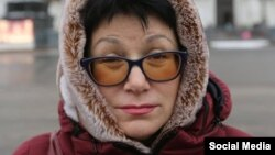 Активістка партії «Яблуко» Наталія Федорова