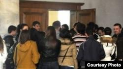 jedan od protesta crnogorskih studenata