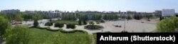 Плошча Леніна ў Бабруйску