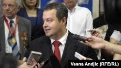 Српскиот заменик премиер и министер за внатрешни работи Ивица Дачиќ.