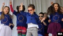 Хепенинг за Денот на Европа.