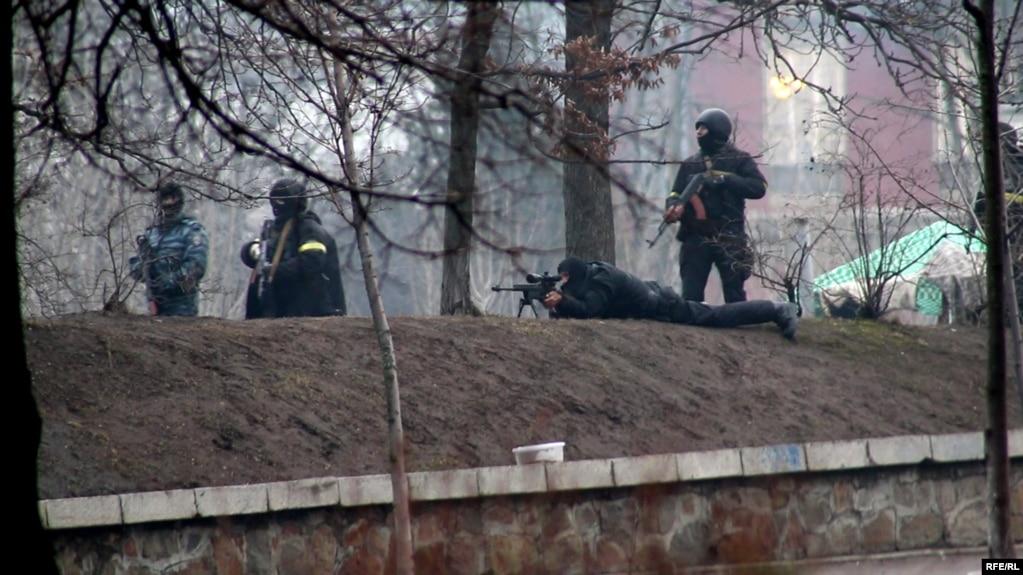 Стрельба по протестующим во время Евромайдана 20 февраля 2014 года