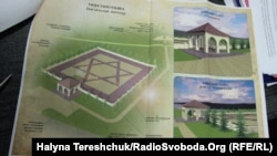 План меморіалу