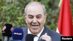 Iyad Allawi is the leader of the Al-Iraqiyah bloc.