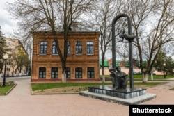 Помнік Марку Шагалу ў Віцебску, фота ©Shutterstock