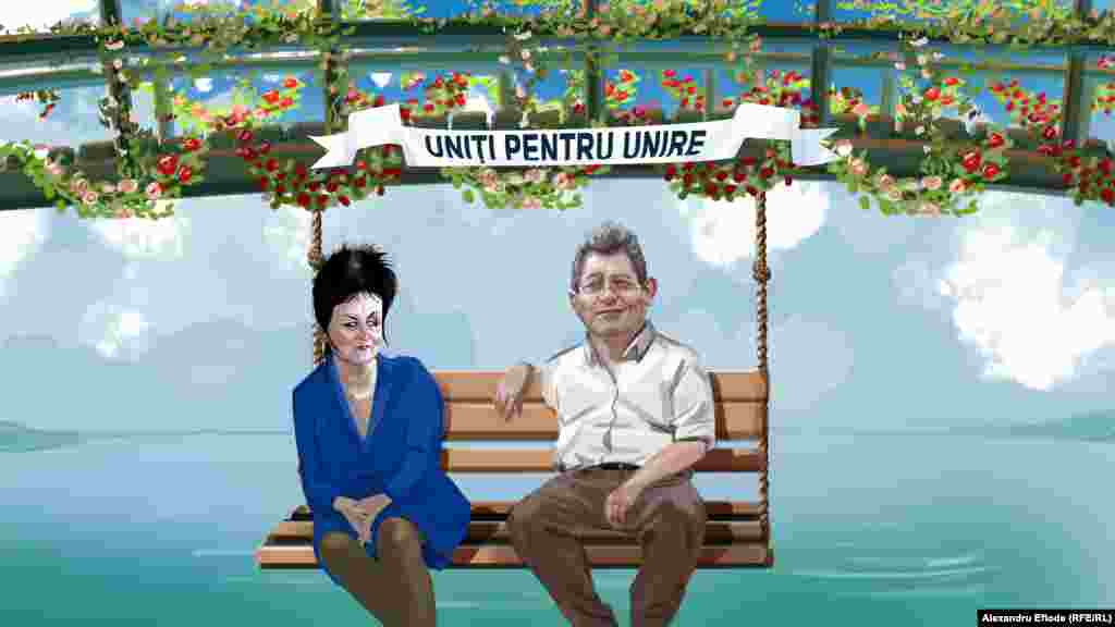 Mihai Ghimpu și Ana Guțu: Uniți pentru Unire!