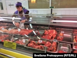 В мясном отделе псковского магазина
