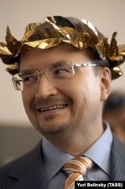 Ректор СПбГУ Николай Кропачев, 2008 год