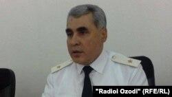 Шариф Назарзода, сардори Раёсти умури дохилии Суғд