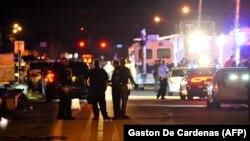 На месте одного из предыдущих инцидентов со стрельбой в городе Паркланд, Флорида (архив, 14 февраля 2018)