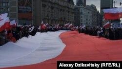 Польша тәуелсіздігінің 99 жылдығына арналған шараға қатысушылар