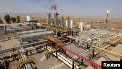 حقل طق طق النفطي قرب أربيل