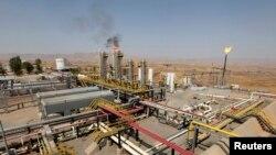 «Нефтяное поле» в Эрбиле (столица Курдского автономного района Ирака)