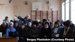 Собрание пострадавших от наводнения