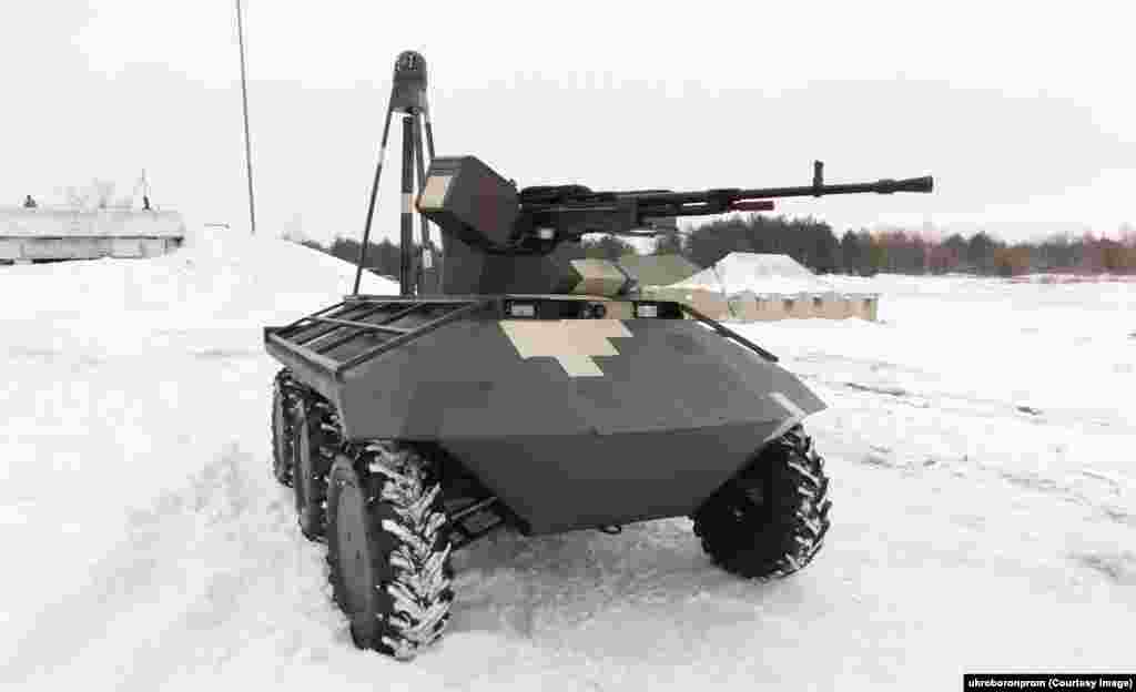 The Ukrainian-made Phantom is one of several unmanned ground vehicles (UGVs) being pitched to that country's military. The 2.5-ton Phantom has yet to fire its 12.7-millimeter machine gun in combat, but some Ukrainians are doubtful such infantry-support vehicles would make reliable battle companions.