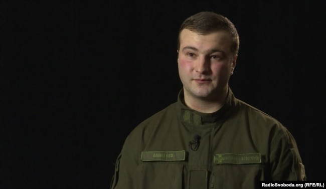 Кирило Онищенко, офіцер Національної гвардії України