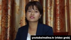 Санрабия Сатыбалдиева.