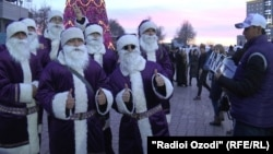 Новый год в Душанбе