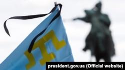 Меморіальні заходи в День боротьби за права кримськотатарського народу, архівне фото, 2018 рік