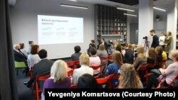 Презентація досліджень щодо особливостей працевлаштування та ставлення до людей із інвалідністю в українському суспільстві. Київ, 29 листопада 2017 року