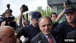 Bosnia and Herzegovina - Sarajevo,Croatian far-right politician and former general Branimir Glavas arrested,13May2009