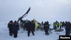 Місце падіння Мі-8 у Красноярському краї, 26 листопада 2015 року