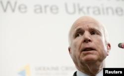 Сенатор Джон Маккейн. Київ, 22 червня 2015 року