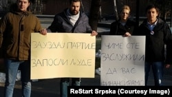 Prednost ljudima, a ne partijama: Akcija Restarta u Banjaluci