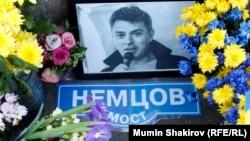 На місці вбивства Бориса Нємцова (архівне фото)