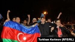 од синоќешните прослави во Баку