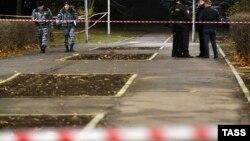 Место убийства Ибрагима Эльджаркиева, 2 ноября 2019 г.