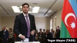 Сын президента Азербайджана Гейдар Алиев-младший.