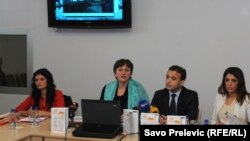 """Sa prezentacije rezultata istraživanja """"Nasilje nad ženama u romskoj i egipćanskoj zajednici u Crnoj Gori"""