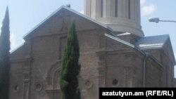 Armenia - The Armenian St. Echmiatsin church in Tbilisi, 10 September 2014