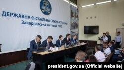 Президент Украины Владимир Зеленский в субботу 6 июля посетил Ужгород