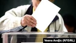 Ilustracija sa izbora u martu 2014.