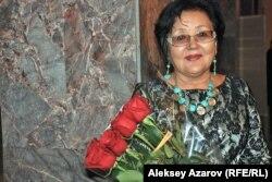 Гульнар Карабаева, сыгравшая в фильме «Меня зовут Кожа». Алматы, 16 ноября 2013 года.
