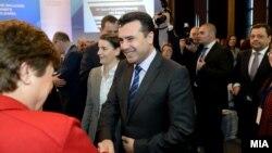 """Премиерот Зоран Заев на Меѓународната конференција """"Пoсилна регионална интеграција на Балканот"""""""