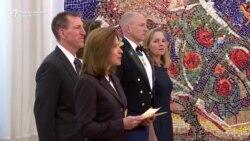 Новата американска амбасадорка ги предаде акредитивите
