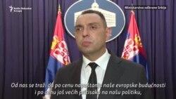 Vulin: Nećemo učestvovati u bilo kakvim vežbama ili vojnim aktivnostima