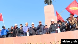Opposition party leaders and others politicians are now left to sort out the chaos that currently exists in Kyrgyzstan.