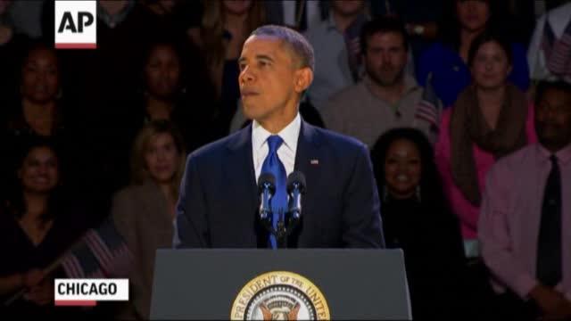 Obama mban fjalimin e fitores