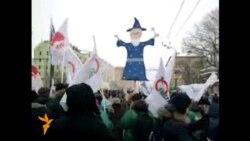 Москвада норозилар митинги, Калужская майдони