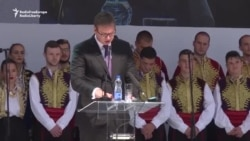 Aleksandar Vucic la Mitrovița: nu voi recunoaște Kosovo ca stat